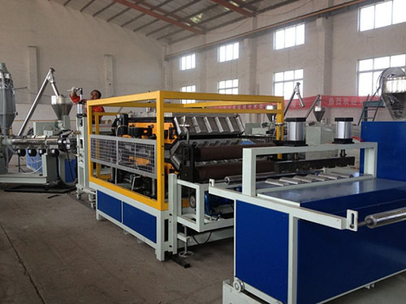 PVC/PMMA/ABS Roof Tile Extrusion Line