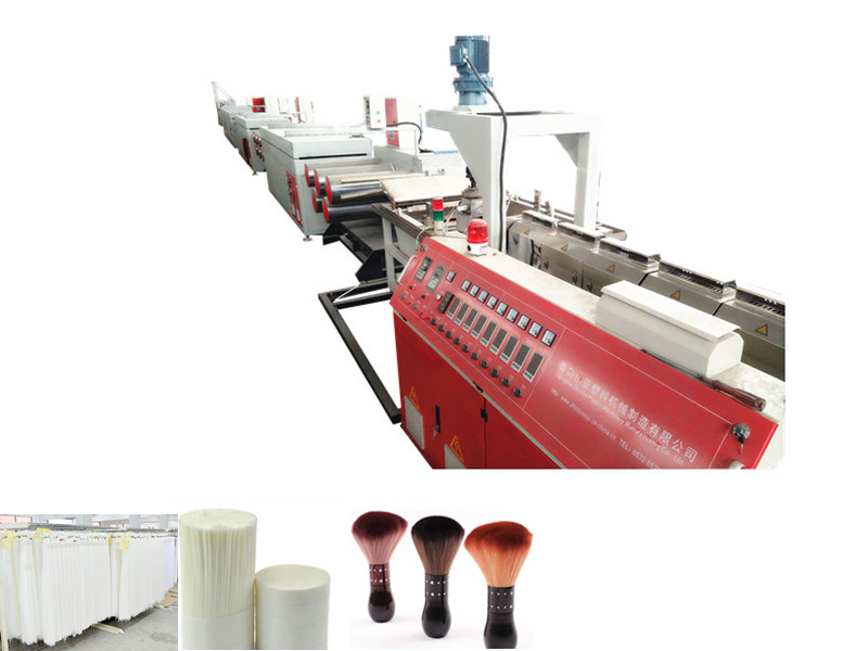 Plastic Cosmetic Brush Filament Machine