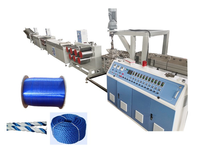 Plastic Rope Filament Machine