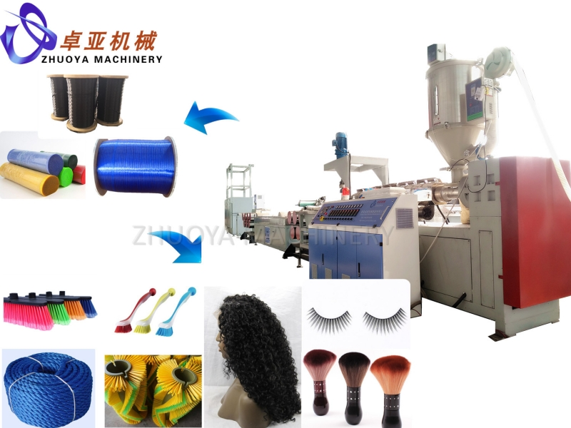 PET/PP round filament Extrusion line