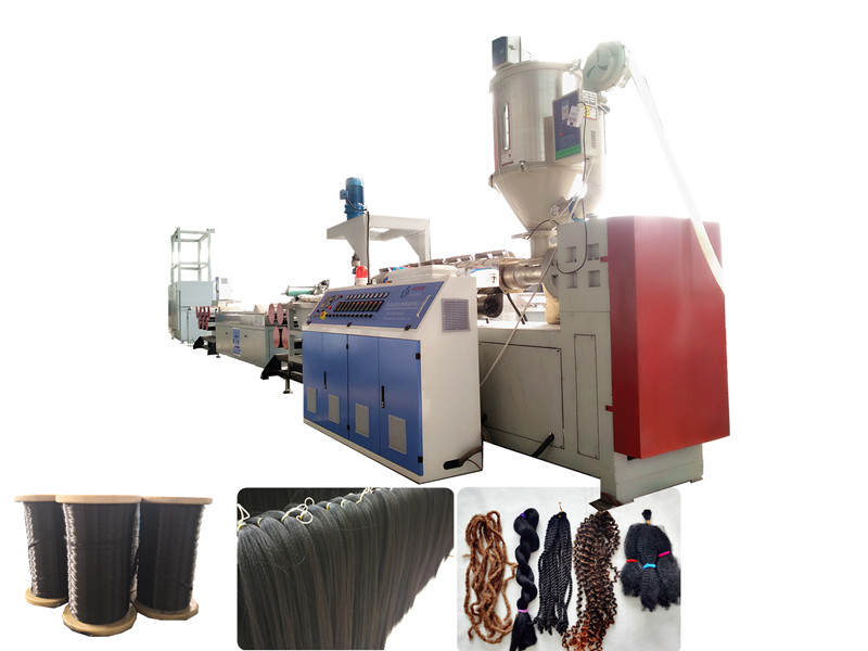 Plastic Synthetic Hair Filament Machine