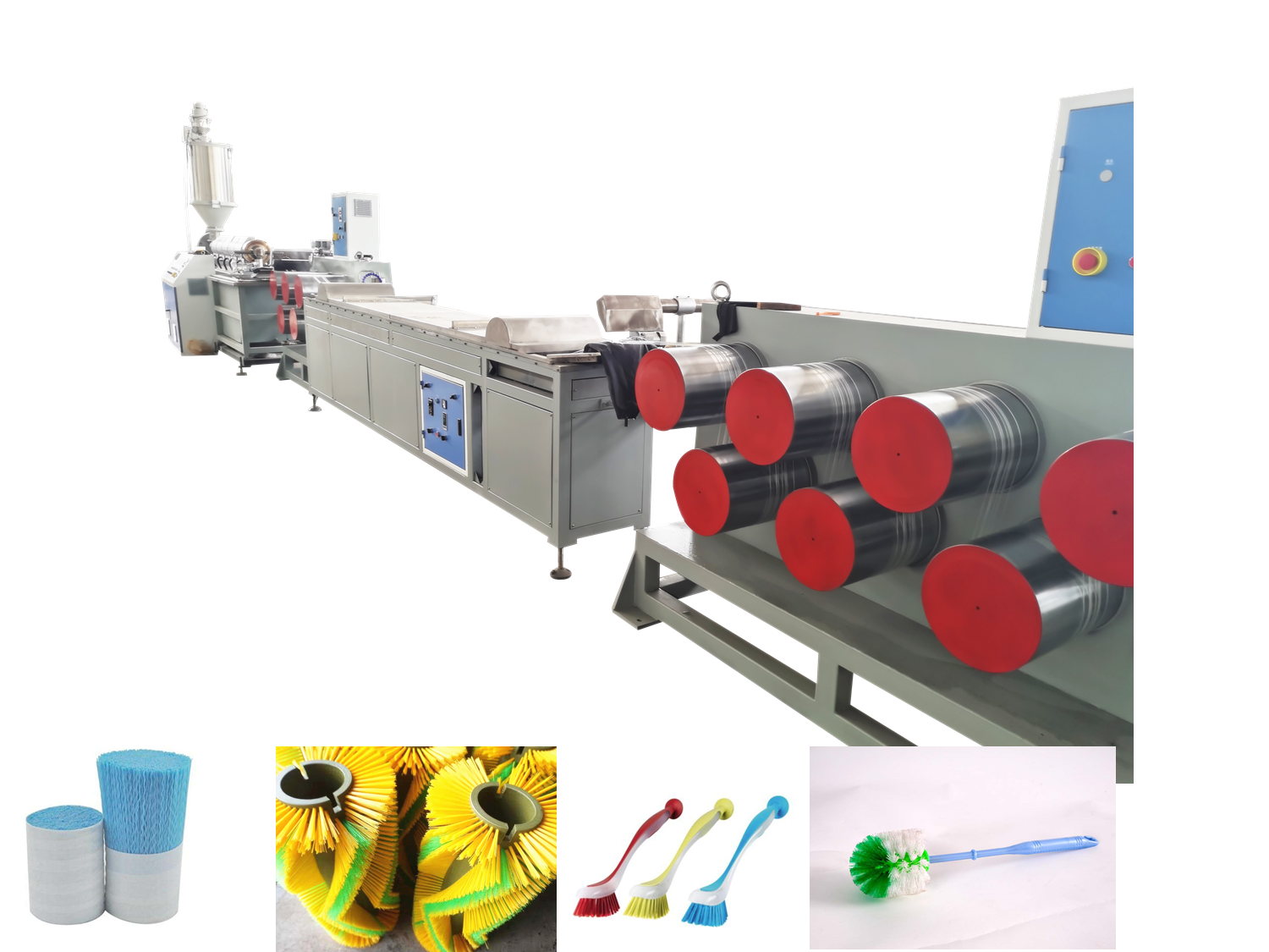 Plastic Brush Filament Machine